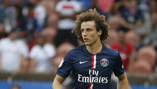 O zagueiro do PSG, David Luiz.