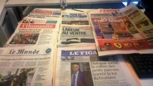 Diários franceses 26/05/2015