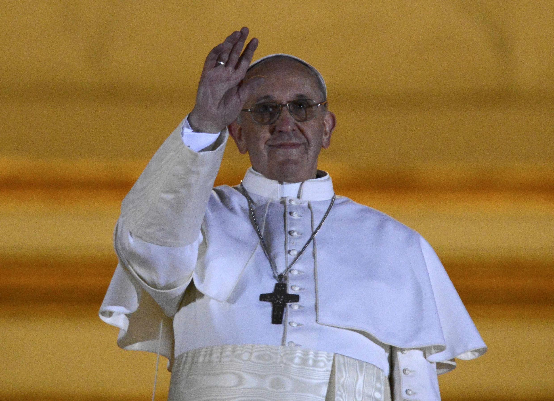 Le nouveau pape, François Ier.