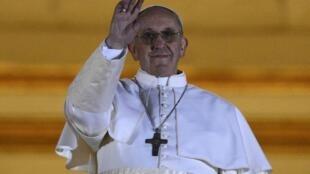 El nuevo papa, Francisco.