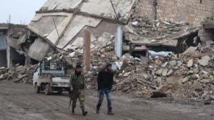 Barnar da aka samu a yakin Syria