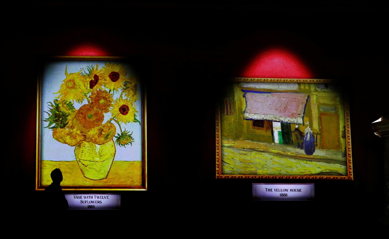 Des toiles de Van Gogh en expo digitale à Bruxelles.