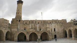 Grande mosquée de Gaza.