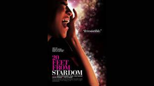 L'affiche du film documentaire <i>Twenty feet from stardom, </i>du réalisateur et producteur Morgan Neville.