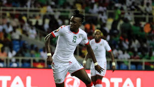 Le Burkinabè Bertrand Traoré durant la CAN 2017. (Image d'illustration)