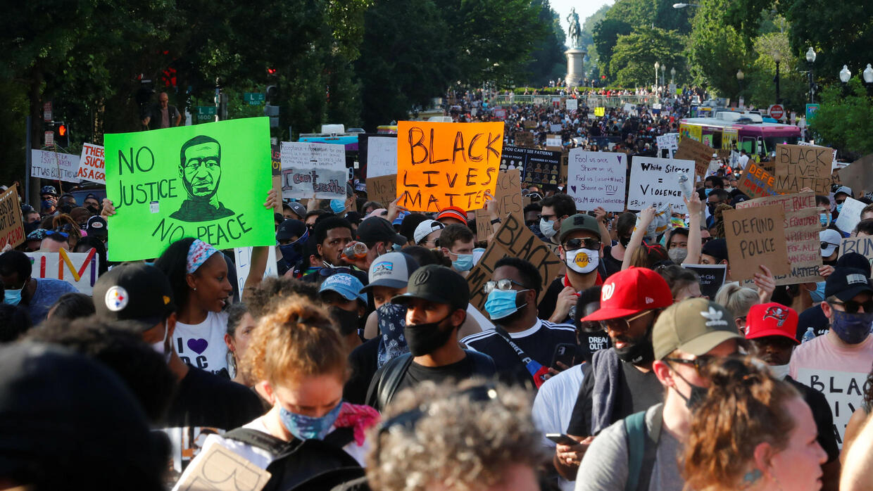 Black Lives Matter supporters march in France and across the world against police brutality