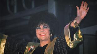 Elizabeth Taylor, le 30 septembre 1993, à San Francisco.