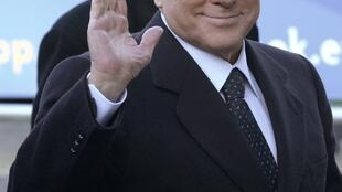 O ex-primeiro-ministro da Itália, Silvio Berlusconi