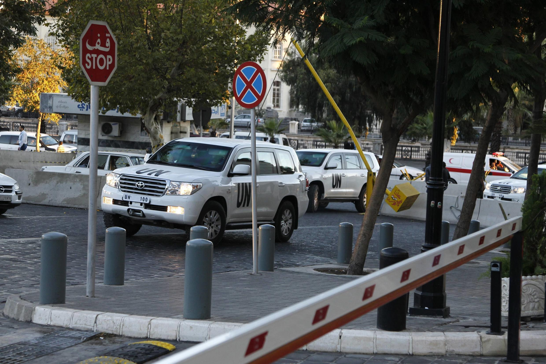 OCPW members in Damascus