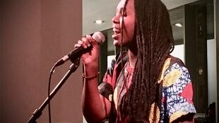La jeune chanteuse rwandaise Weya Viatora au Festival Congolisation le 18 janvier 2020