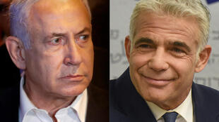 Benjamin Netanyahu e Yaïr Lapid
