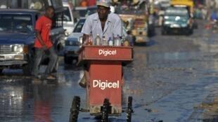 Dans les rues de Port-au-Prince, le 4 septembre 2012.