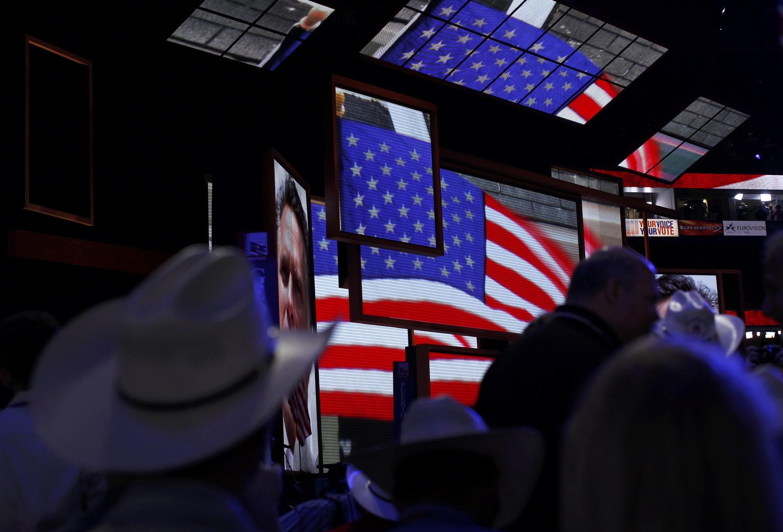 Các đại biểu tại đại hội đảng Cộng hòa ở Tampa, Florida ngày 27/08/2012.