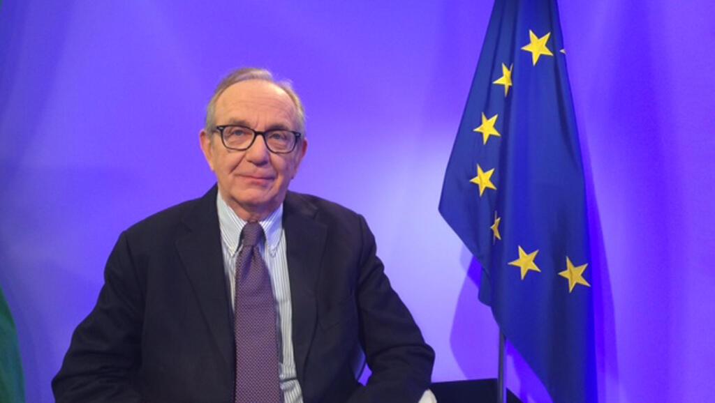 Le ministre italien des Finances Pier Carlo Padoan.