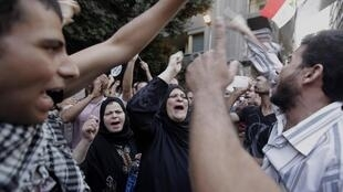 Egypt's Muslim Brotherhood, whose political party propelled the nation's president to power, called for a nationwide peaceful demonstration on Friday to condemn insults to Prophet Mohammed.