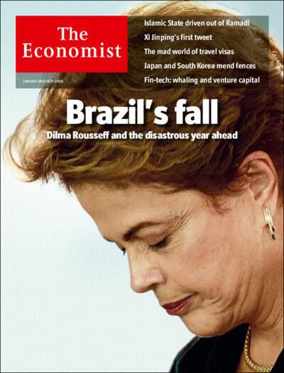 Capa da revista The Economist datada de 2 de janeiro de 2016.