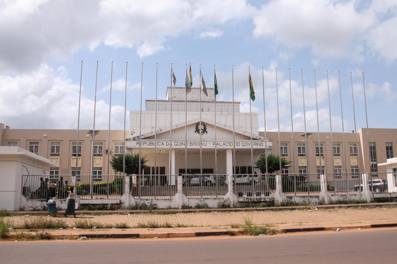 Palácio do Governo em Bissau.
