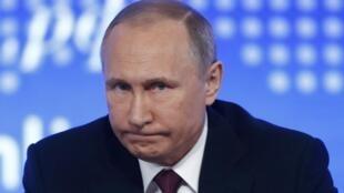 Владимир Путин на пресс-конференции, 23 декабря 2016 г.