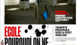 Capa do jornal Libération desta quarta-feira, 7 de dezembro de 2016.