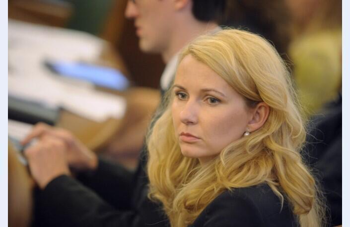Инеса Либина-Егнере - председатель латвийской делегации в ПАСЕ