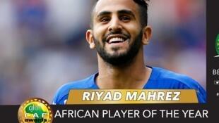 L'Algérien Riyad Mahrez.