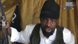 Kiongozi wa kundi la Boko haram, Abubakar Shekau March 24, 2014