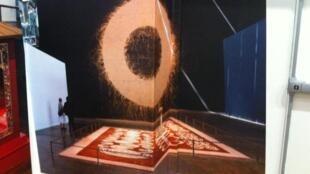 Vue de l'exposition « Magiciens de la Terre, retour sur une exposition légendaire », jusqu'au 8 septembre au Centre-Pompidou-Paris.