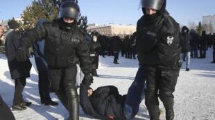 Russie - manifestation contre Putin