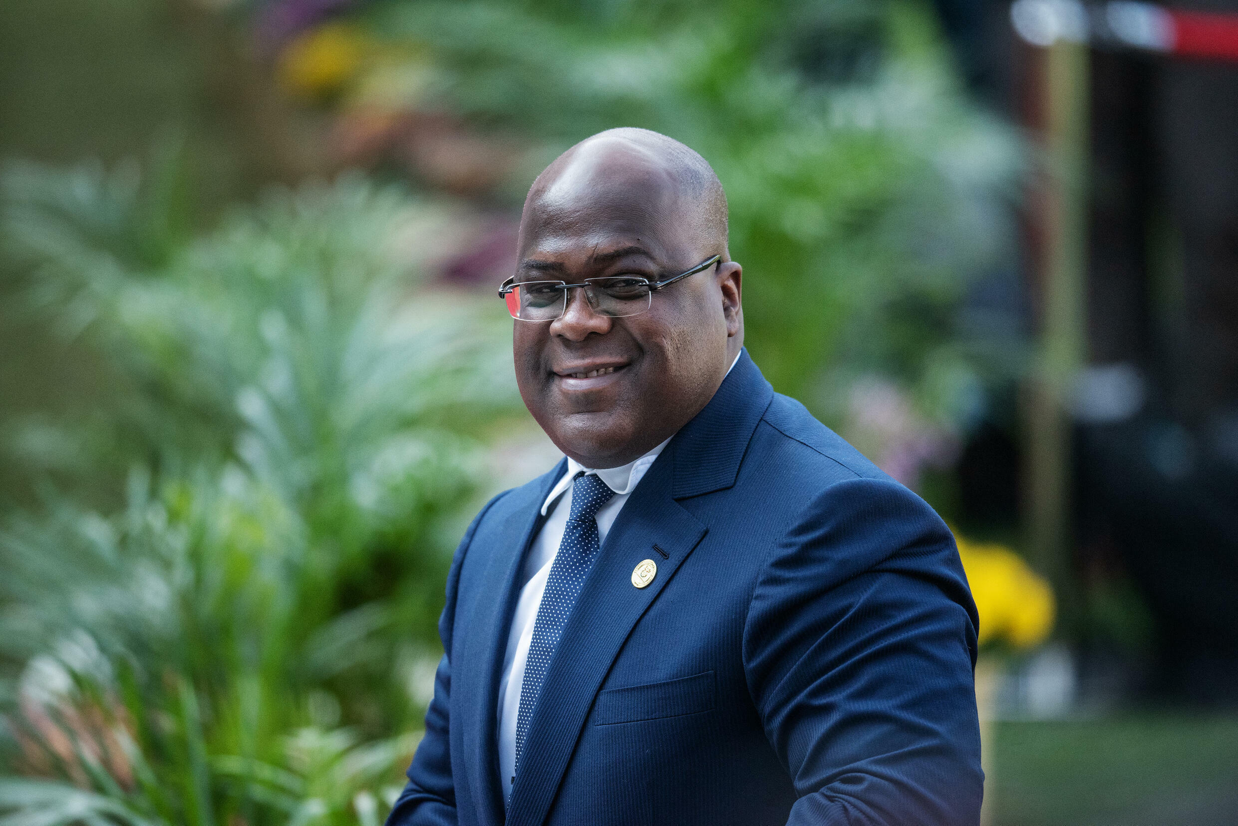 President Felix Tshisekedi, who came to power in 2019, has launched a push to widen use of the Congolese franc