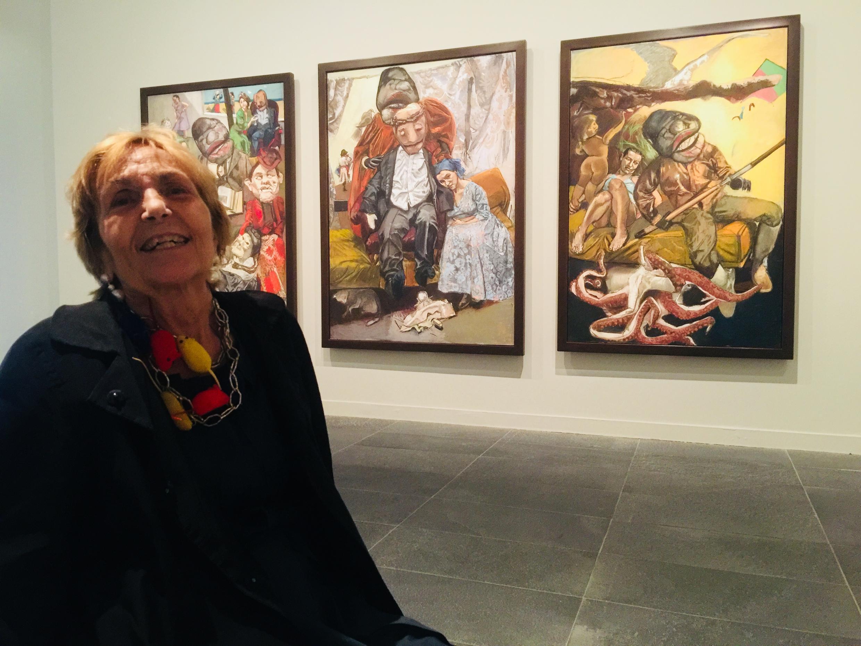 Paula Rego. Musée de l'Orangerie. 16 de Outubro de 2018.