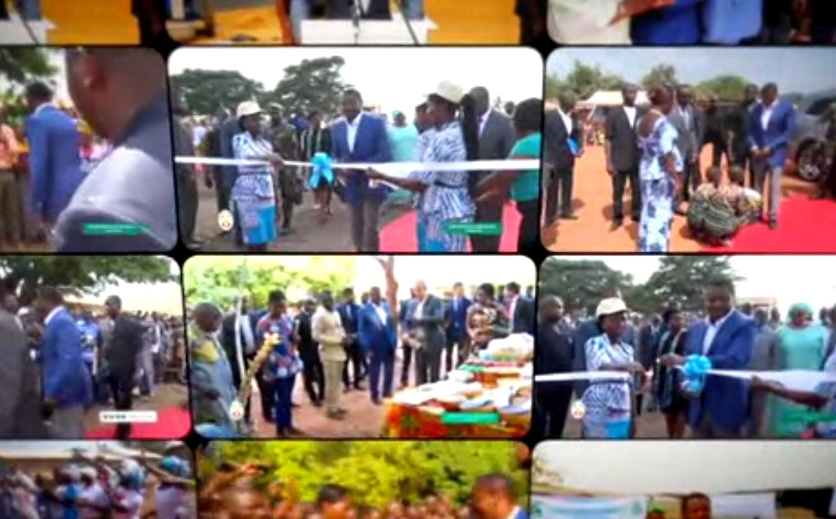 Capture d'écran issue du clip promotionnel consacré au Togo diffusé par Canal+ en décembre 2017.