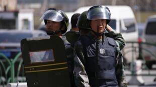 Vụ tấn công vào Thiên An Môn hôm 28/10/2013, đã làm 2 người thiệt mạng - REUTERS /Petar Kujundzic
