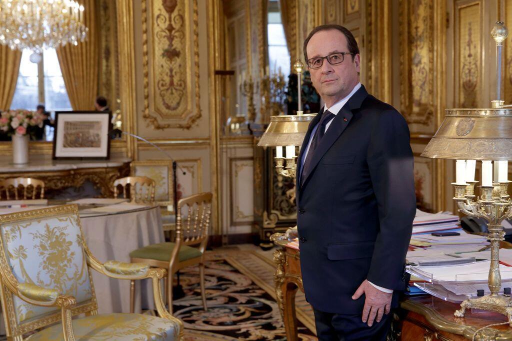 Apenas um em cada cinco franceses querem que Hollande seja candidato