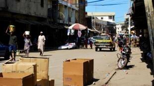Une rue de Conakry, en Guinée (photo d'illustration).