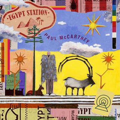 Pochette de l' album - « Egypt Station » de Paul Mc Cartney.