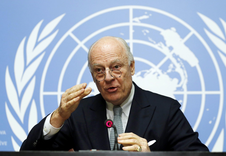 Staffan Mistura, manzon Majalisar Dinkin Duniya a Syria