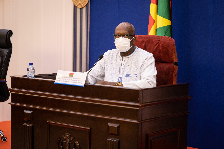 El presidente burkinés Roch Marc Christian Kaboré, el 1 de julio de julio de 2021