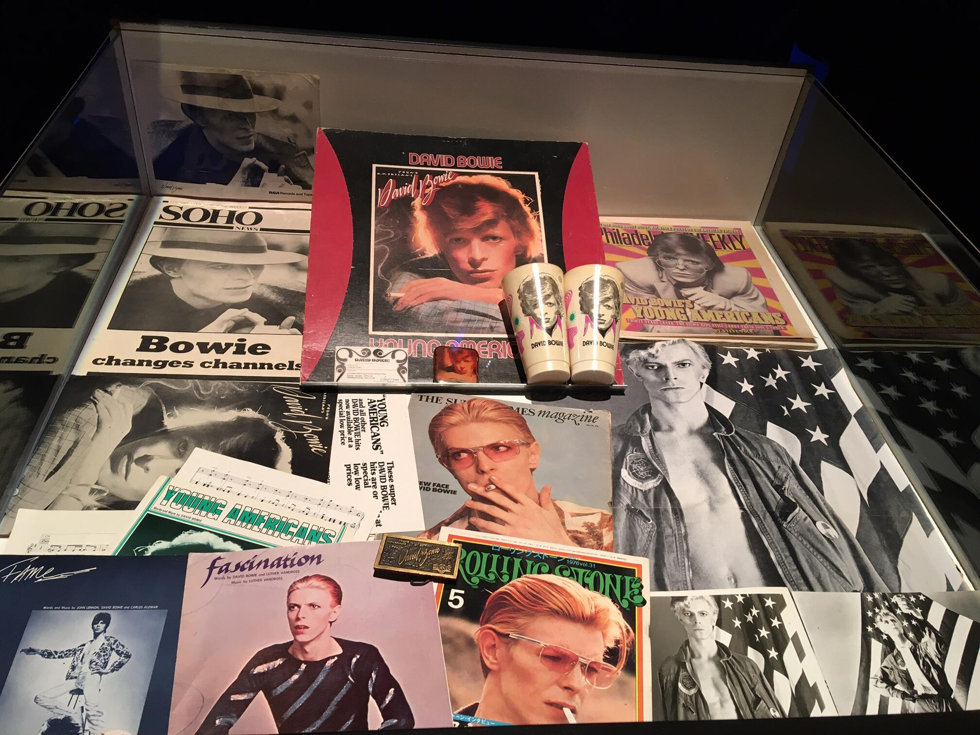 Bowie Odyssée Young Americans merchandising