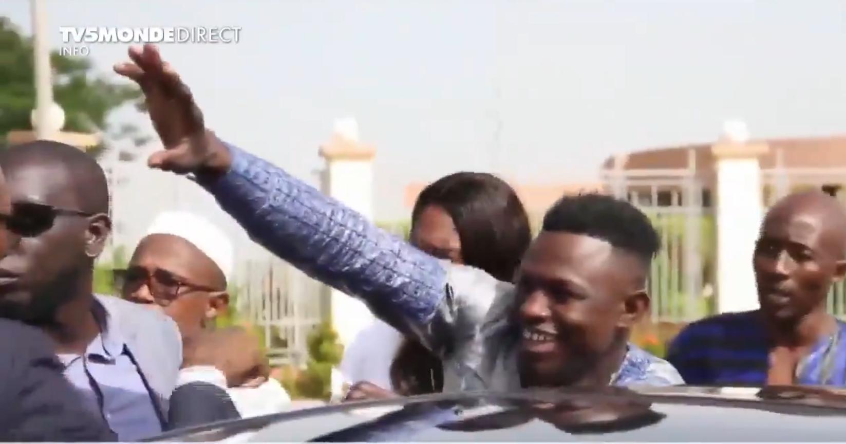 "Mamoudou ""Spider-Man"" Gassama arrives in Bamako on June 18."