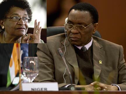 Une délégation de la CEDEAO conduite par la présidente du Liberia, Ellen Johnson Sirleaf, a rencontré à Niamey le président du Niger Mamadou Tandja.