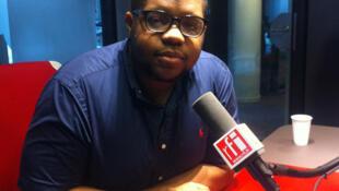 Carl Joseph Mandeng,  représentant de la Synergie de la Jeunesse Camerounaise en Europe.