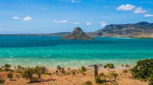 Baie d'Antsiranana appelée mer d'Emeraude près de Diego Suarez, à Madagascar.