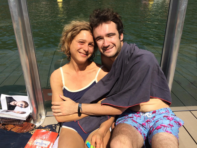 O casal Valentine e Thibaut Moraldi aprovou o espaço
