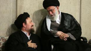 رهبر+معظم+انقلاب+و+سید+حسن+خمینی