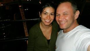 Valéria e Johan Oswald se conheceram no Brasil, onde o sul-africano trabalhava como soldador para uma multinacional