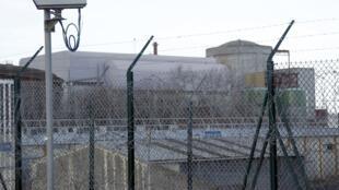 АЭС в Шиноне, центральная Франция 06/01/2012