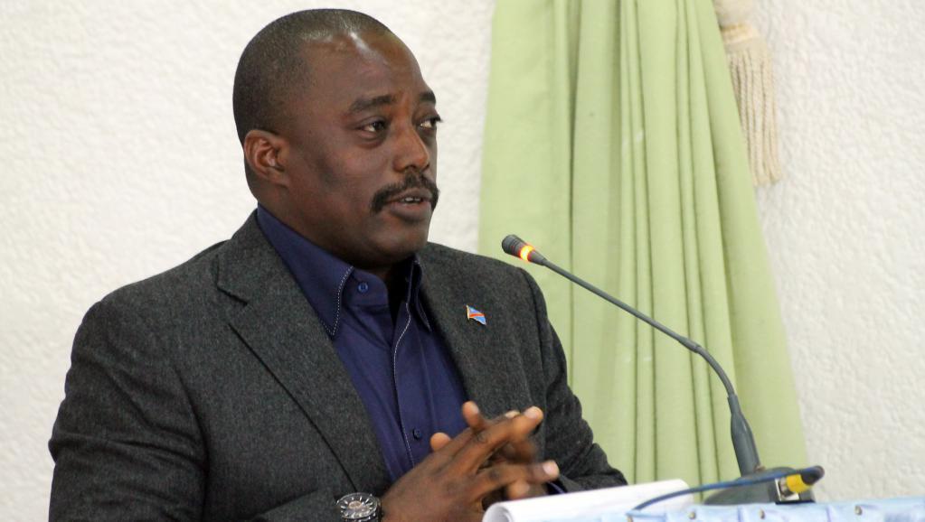 Rais wa Jamhuri ya Kidemokrasia ya Congo Joseph Kabila Oktoba mwaka jana katika mji wa Beni.