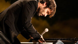 Paul Lay au Festival International de piano La Roque d'Anthéron 2019.