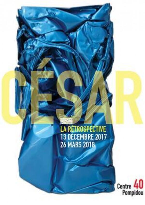"""La retrospectiva """"César"""" estará abierta hasta el 26 de marzo."""