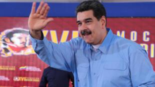 Le président Nicolas Maduro, au palais présidentiel de Miraflores, à Caracas, le 10 mai 2019. (Photo d'illustration).